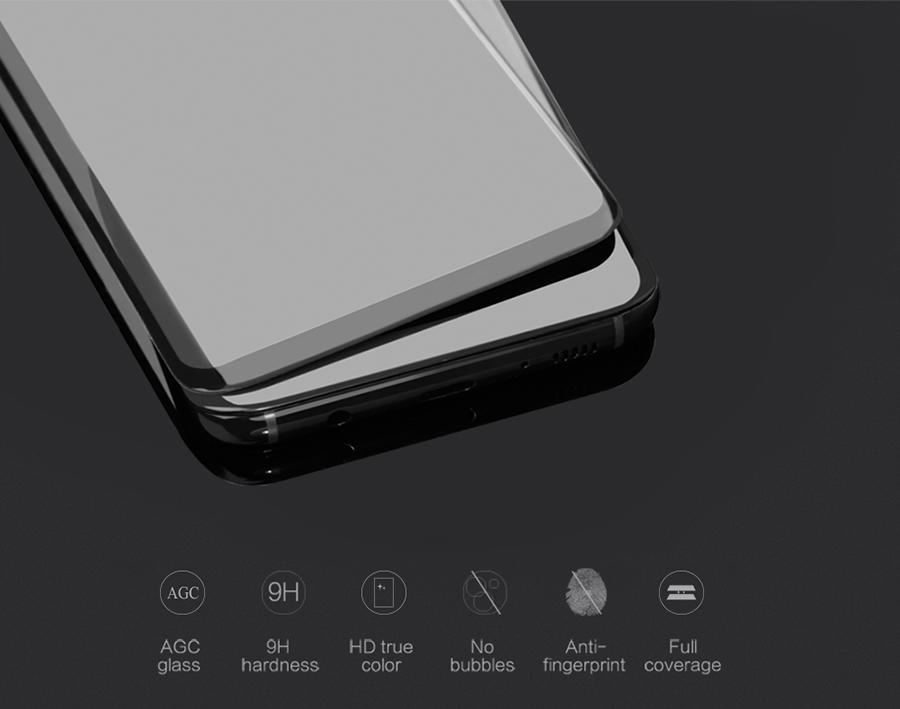 Công nghệ trên kính cường lực Galaxy S8