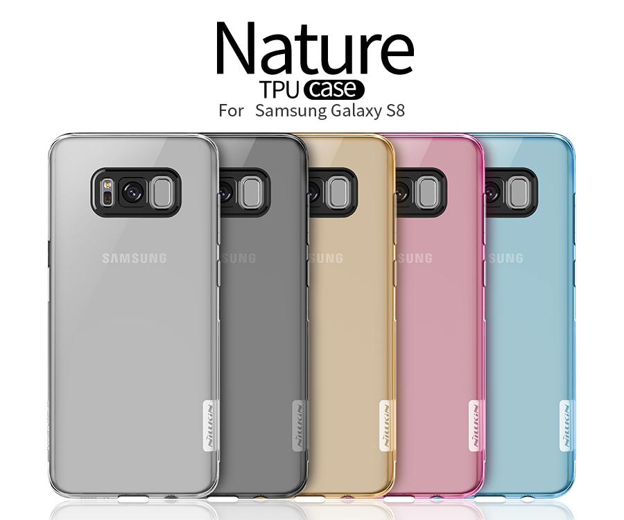 Ốp lưng silicon Samsung Galaxy S8 hiệu Nillkin