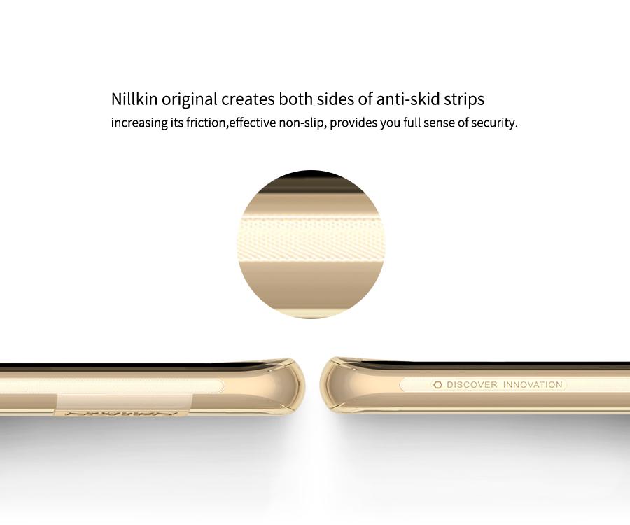 Ốp lưng silicon Galaxy S8 hiệu Nillkin có thiết kế mỏng và đẹp