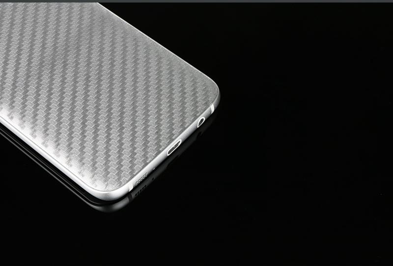 Miếng dán mặt sau vân Carbon cho Samsung Galaxy S8 với thiết kế tỉ mỉ