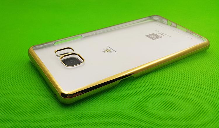 Ốp lưng Samsung Galaxy S8 hiệu Meephone với mặt sau trong suốt