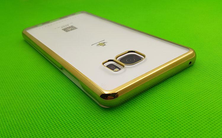 Ốp lưng Samsung Galaxy S8 mạ Crom màu vàng Gold