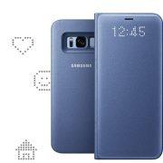 Bao da LED view cover Samsung S8 Plus chính hãng giúp hiển thị thông tin dễ dàng
