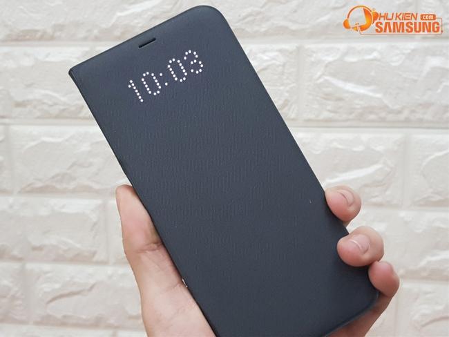 Bao da Led view cover chính hãng cho Galaxy S8