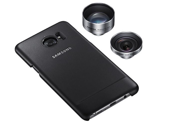 Ốp với thiết kế có ren giúp tháo lắp Lens dễ dàng trên Samsung S8