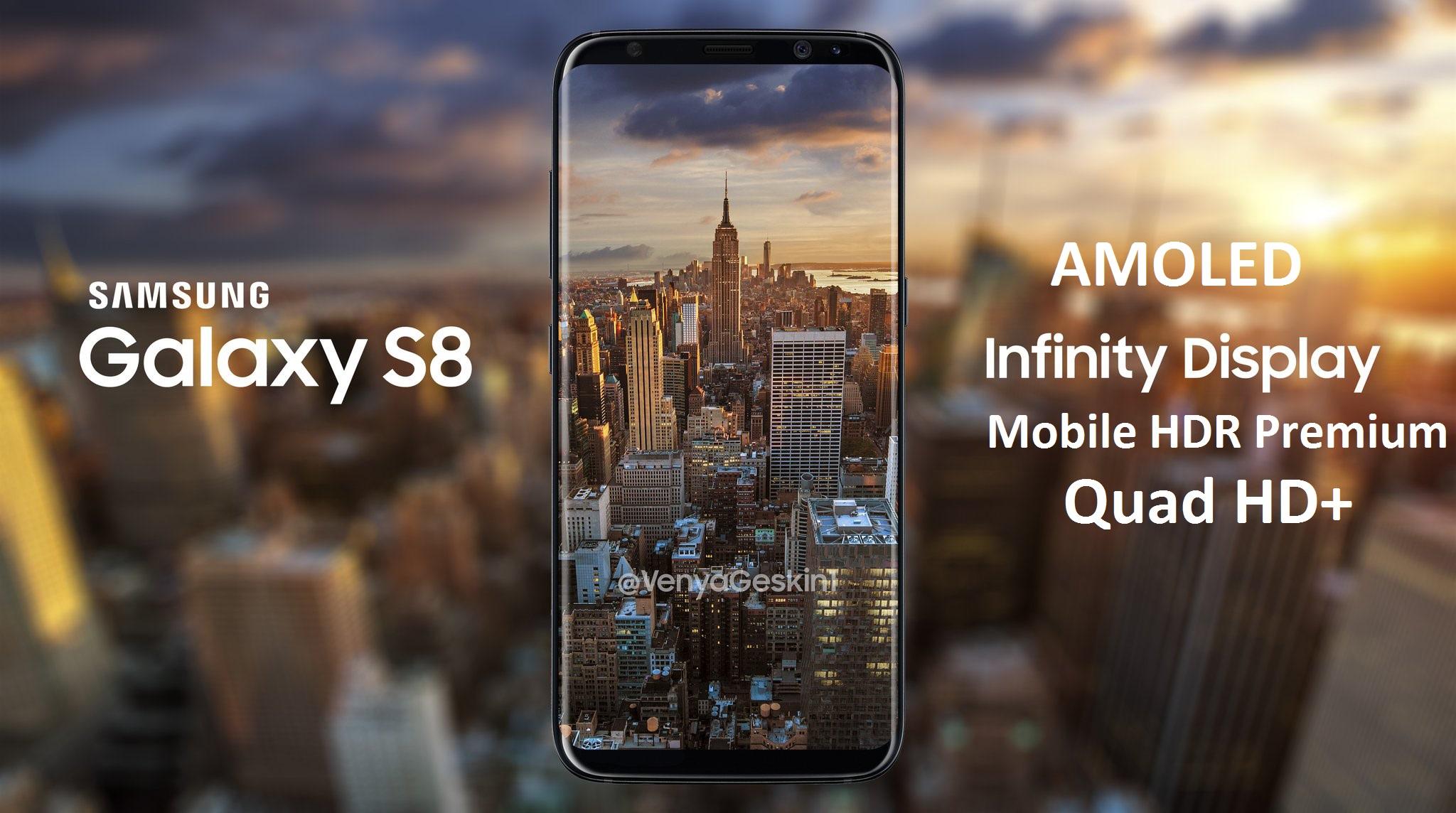 Tính năng màn hình S8 và S8 Plus