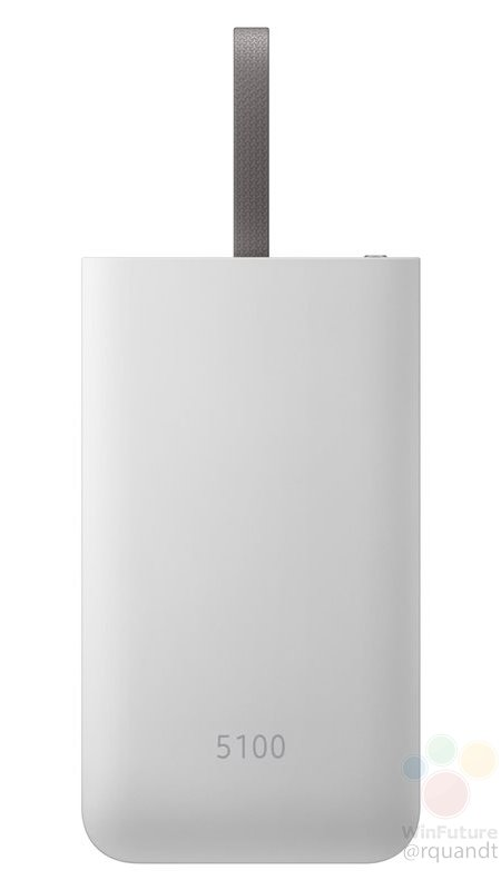Pin sạc nhanh dự phòng USB type C có dung lượng 5100mAh