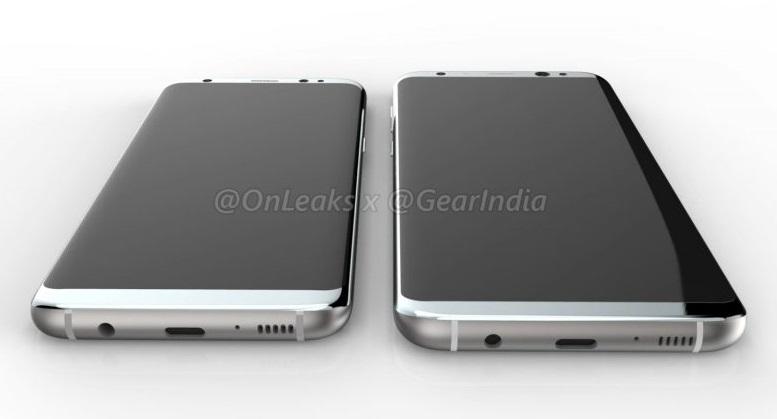 Thiết kế S8 và S8 Plus