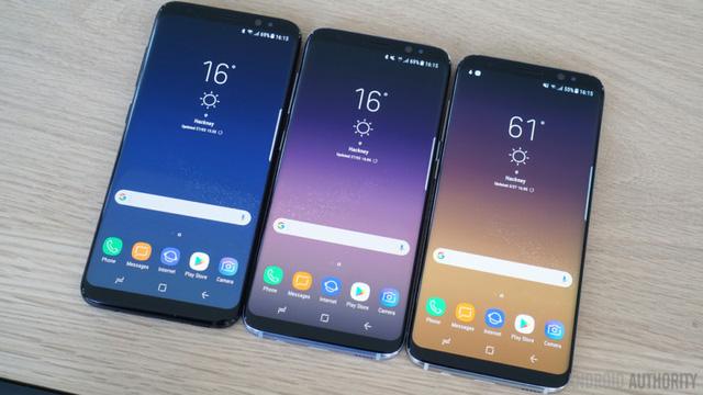Giao diện UI trên Samsung S8 và S8 Plus