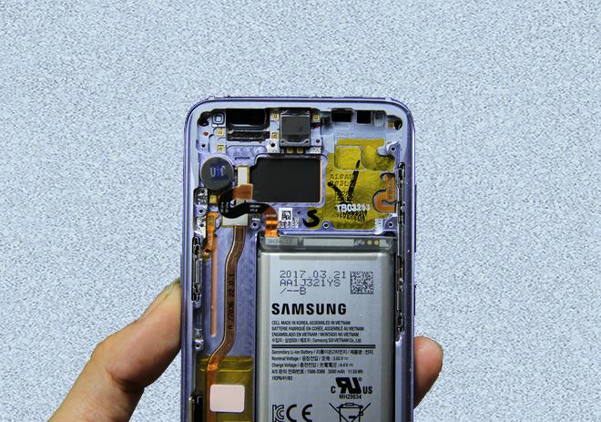 Hệ thống tản nhiệt trên Galaxy S8