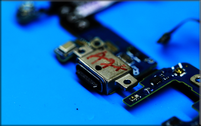 Cổng cắm USB Type C sử dụng trên S8