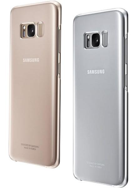 Ốp lưng Clear cover Samsung S8 chống xước và chịu va đập tốt