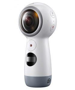 Các nút ấn trên Camera Gear 360 4K VR giúp thao tác dễ dàng