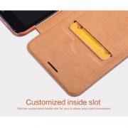 khe cài thẻ trên bao da Samsung galaxy S8 plus
