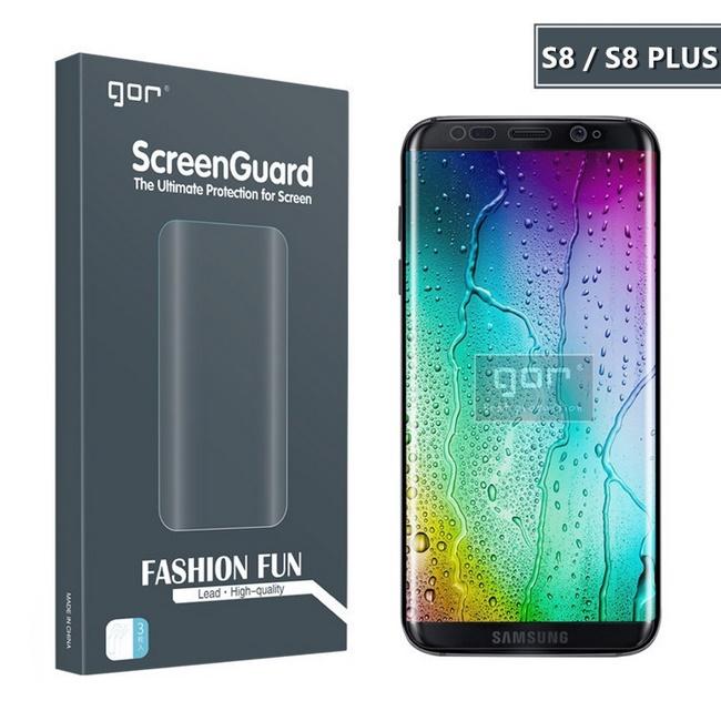Bộ dán bảo vệ màn hình và camera sau Galaxy S8 Plus GOR chính hãng