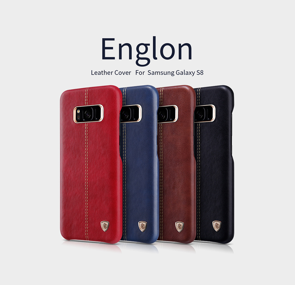 Ốp lưng Nillkin Galaxy S8 hiệu Englon Leather