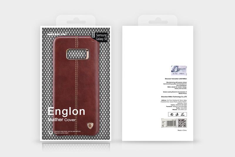 hình ảnh ốp lưng s8 Englon Leather Nillkin