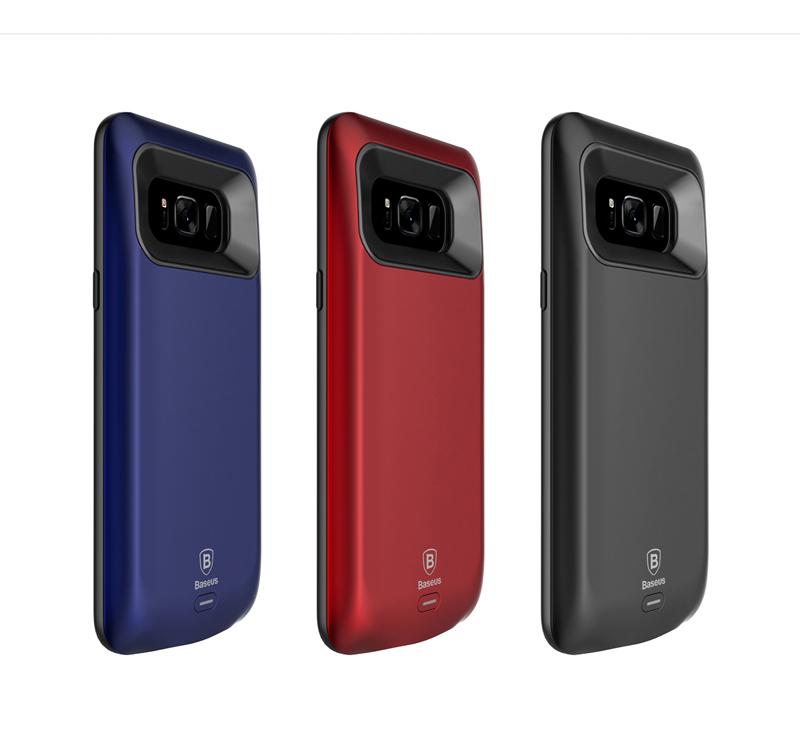 Ốp lưng kiêm pin dự phòng 5500 mAh Galaxy S8 Plus hiệu Baseus