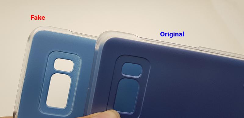 Bao da clear view S8 chính hãng