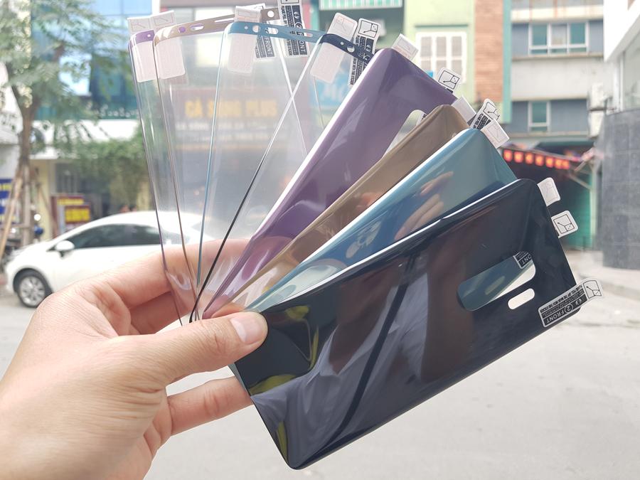 Bộ miếng dán Film Galaxy S9