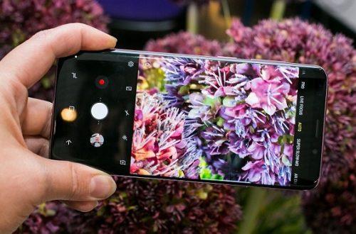 Hình ảnh chụp từ Galaxy S9