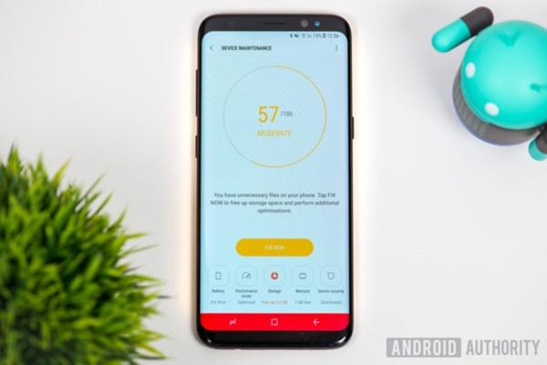 10 cách tăng tốc Samsung Galaxy S8 đơn giản