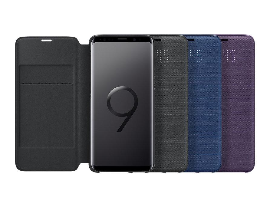 Bao da Led View Galaxy S9