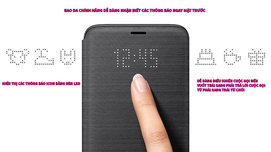 Bao da Led View Galaxy S9 S9 Plus