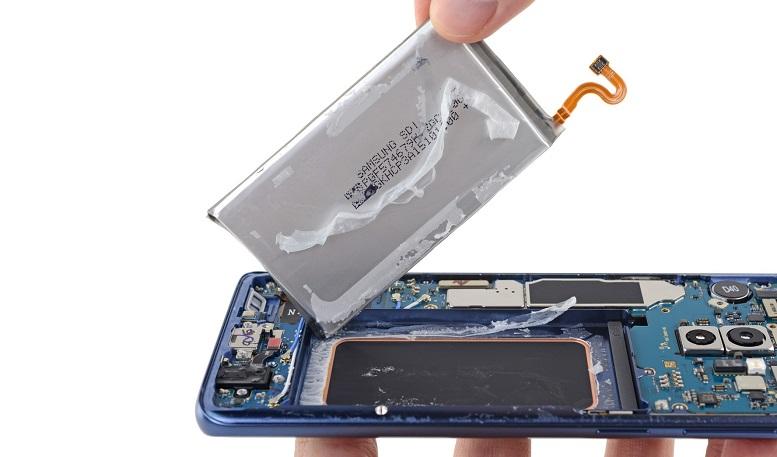Pin Galaxy S9 có chung thông số với pin note 7