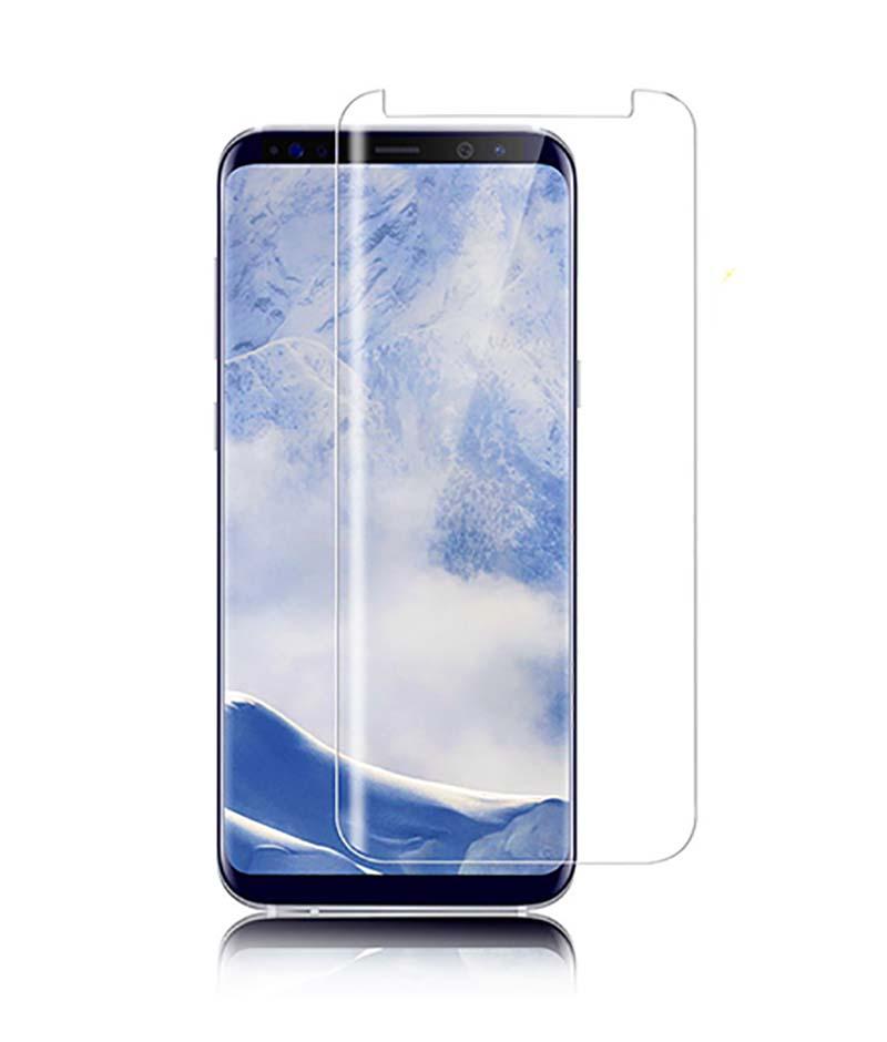 Kính cường lực Full keo Galaxy S8 Plus kết hợp chiếu đèn UV