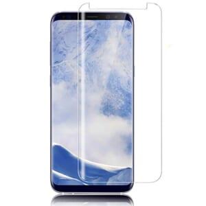 Kính cường lực Galaxy S8 full keo kết hợp chiếu tia UV
