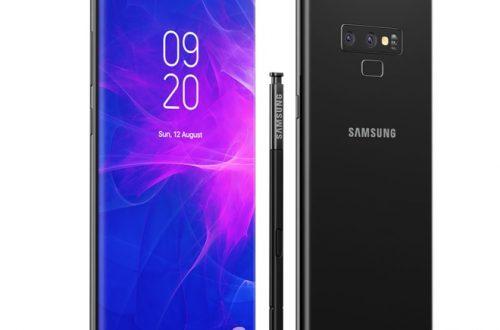 Galaxy Note 9 đã chính thức lộ diện? Viền mỏng hơn cả Note 8.