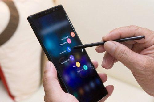 Bút Spen Galaxy Note 9 tích hợp bluetooth nâng cấp rõ rệt nhiều tính năng
