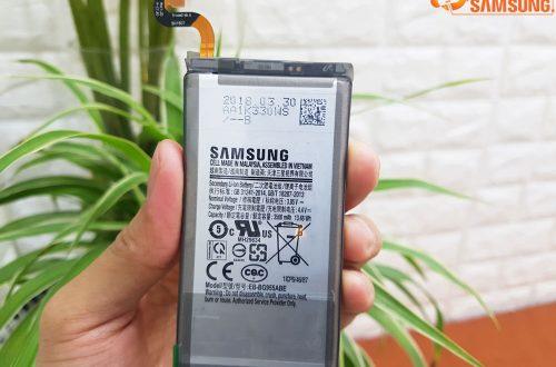 Thay pin Samsung Galaxy S8 Plus chính hãng có bảo hành ở đâu?