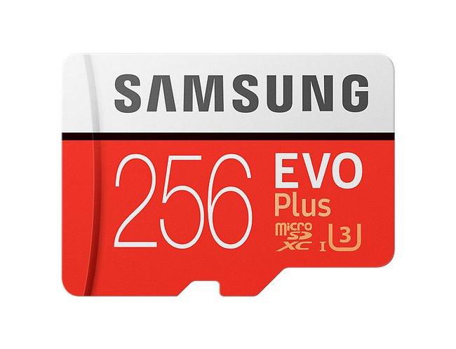 Thẻ nhớ Samsung EVO Plus 256GB