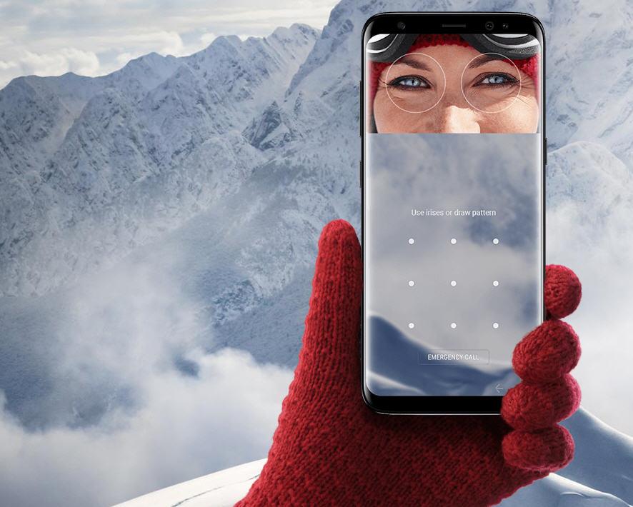 Thay cảm biến mống mắt Galaxy S8 Plus chính hãng