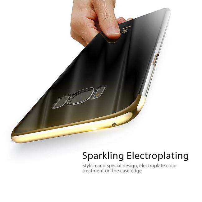 Ốp lưng Galaxy S8 hiệu Baseus Glitter