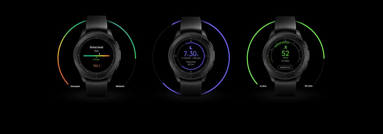 Đồng hồ Samsung Galaxy Watch 46mm chính hãng tại Hà Nội