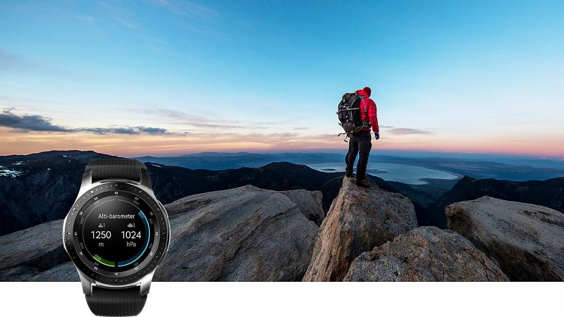 Đồng hồ thông minh Samsung Galaxy Watch 42mm tại Hà Nội