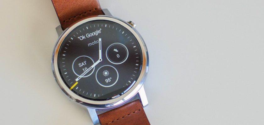 Đồng hồ thông minh Moto 360 thế hệ 2 42mm chính hãng tại Hà Nội