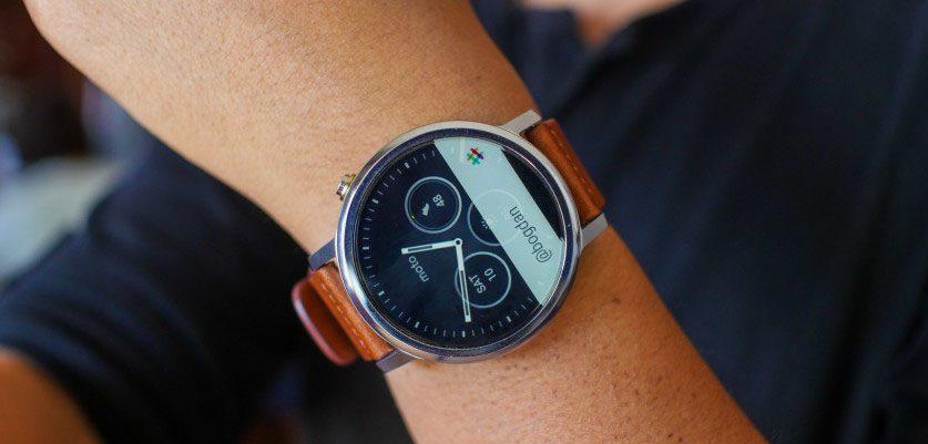 Đồng hồ Moto 360 thế hệ 2 42mm chính hãng tại Hà Nội