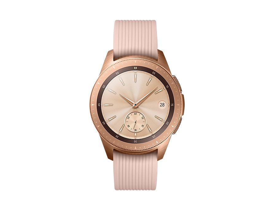 Đồng hồ thông minh Samsung Galaxy Watch 42mm – Gold chính hãng