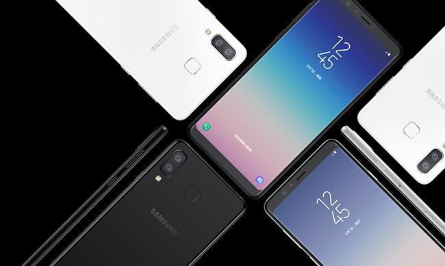 Galaxy A dòng máy thống trị Samsung 2018
