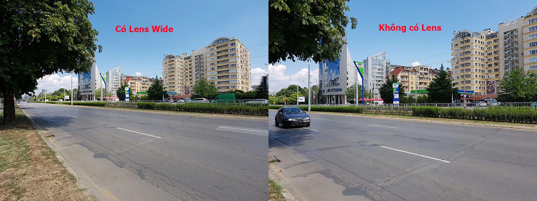 So sánh ảnh chụp sử dụng Lens và không trên SamsungS8