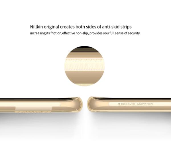 Ốp lưng silicon Galaxy S8 Plus hiệu Nillkin có thiết kế mỏng và đẹp