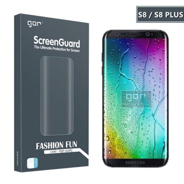Dán bảo vệ màn hình và camera sau S8 hiệu GOR