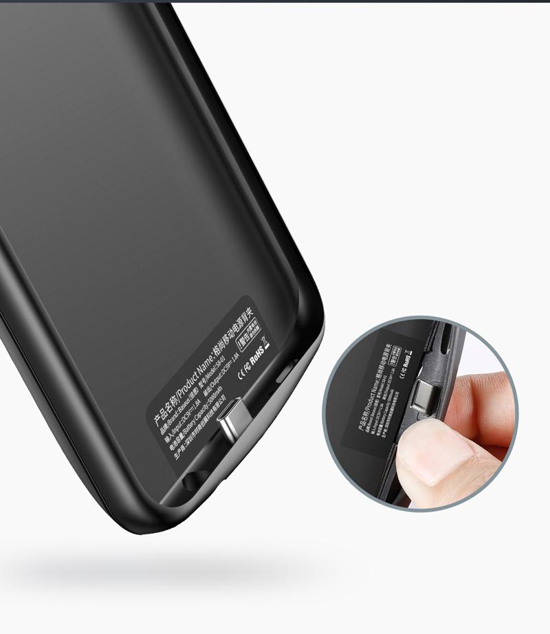 ốp lưng kèm bàn phím 5500mAh cho S8 Plus