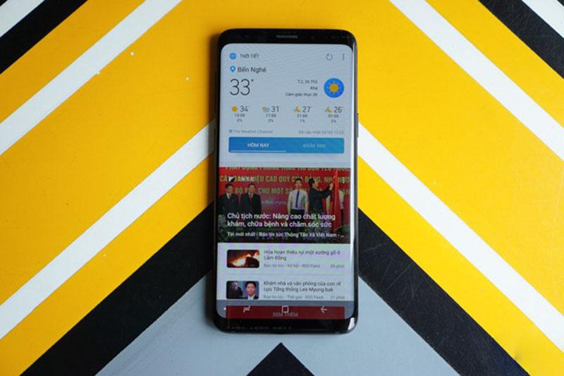 Bao da Samsung Galaxy S9 chính hãng