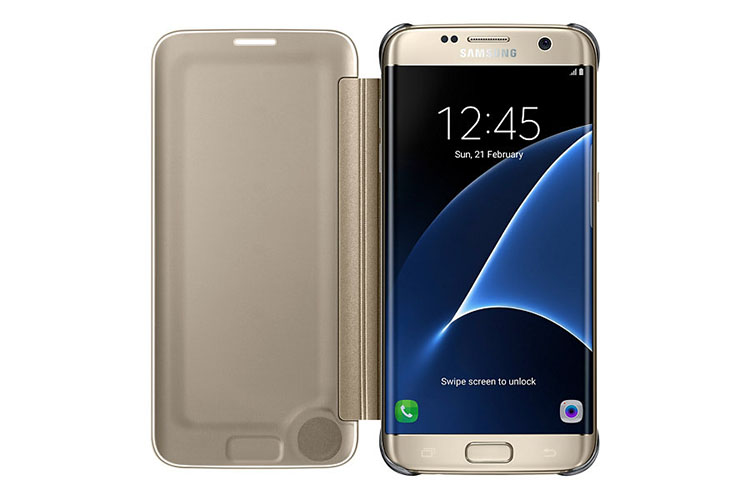 Bao da Clear View Galaxy S7 Edge