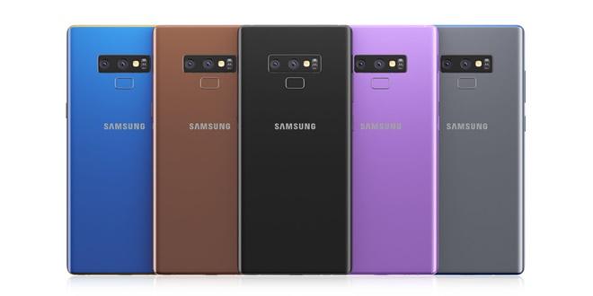 Lộ diện Samsung Galaxy Note 9
